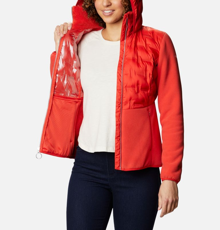 Women's Delta Ridge™ Full Zip Hybrid Fleece Women's Delta Ridge™ Full Zip Hybrid Fleece, a3