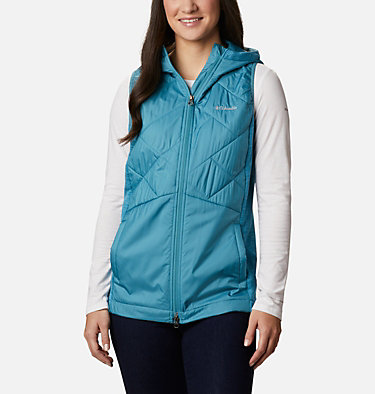 Women's Piney Ridge™ Hybrid Vest Piney Ridge™ Hybrid Vest | 430 | L, Canyon Blue, front