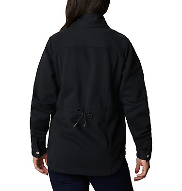 Women's Hart Mountain™ Shirt Jacket Hart Mountain™ Shirt Jac | 286 | L, Black, back