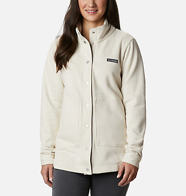 Women's Hart Mountain™ Shirt Jacket Hart Mountain™ Shirt Jac | 286 | L, Chalk, front