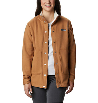 Women's Hart Mountain™ Shirt Jacket Hart Mountain™ Shirt Jac | 286 | L, Elk, front