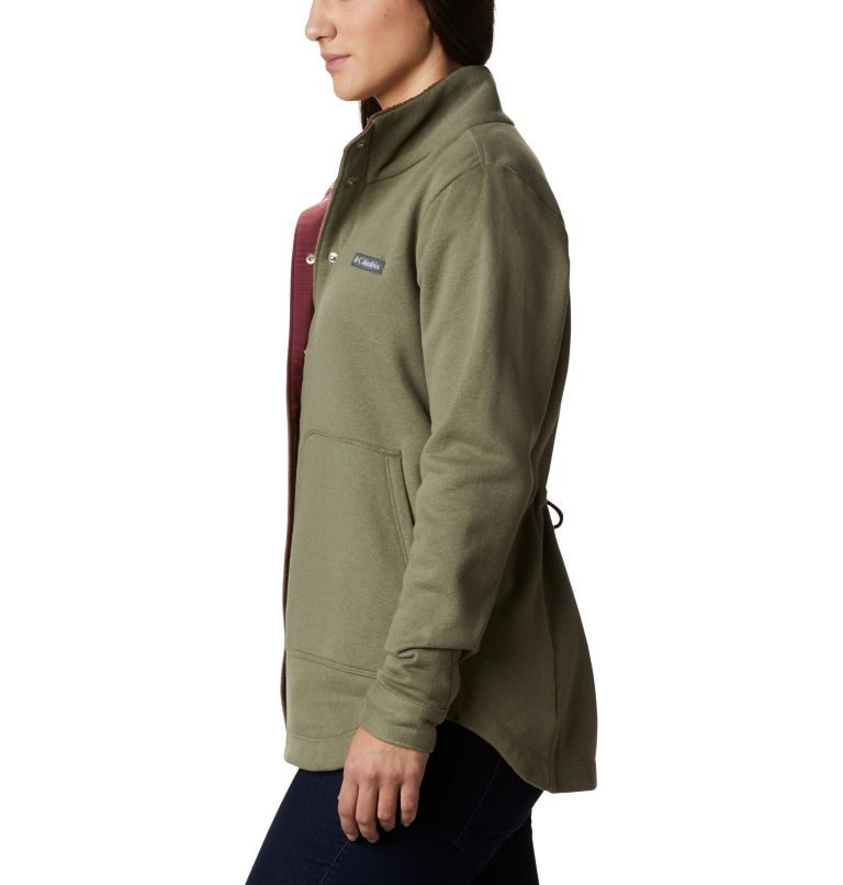 Hart Mountain™ Shirt Jac | 397 | L Women's Hart Mountain™ Shirt Jacket, Stone Green, a1