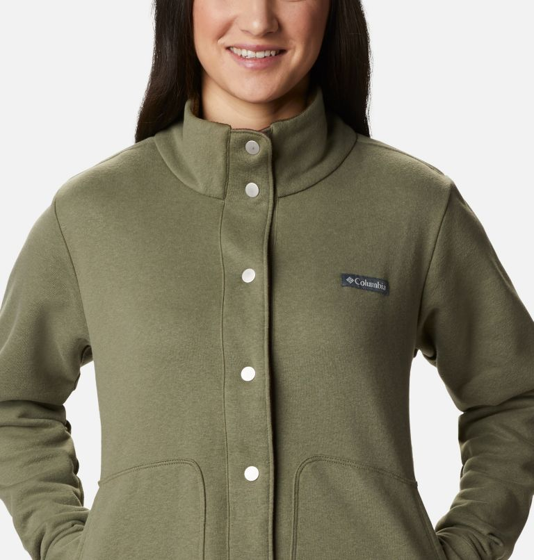 Hart Mountain™ Shirt Jac | 397 | L Women's Hart Mountain™ Shirt Jacket, Stone Green, a2