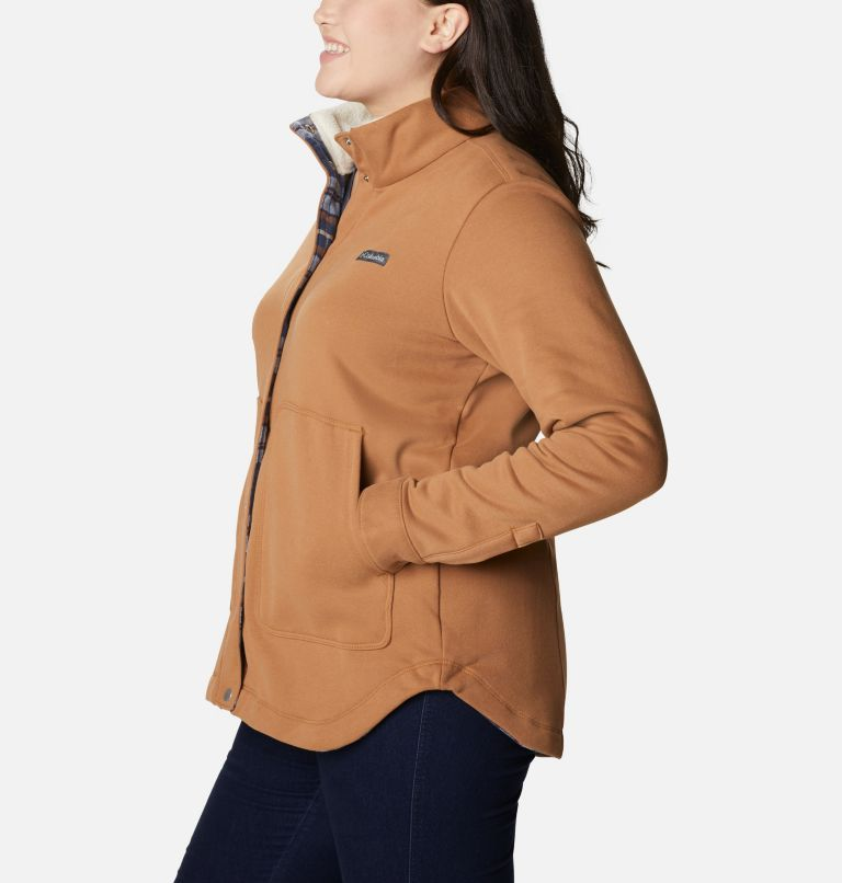 Women's Hart Mountain™ Shirt Jacket - Plus Size Women's Hart Mountain™ Shirt Jacket - Plus Size, a1