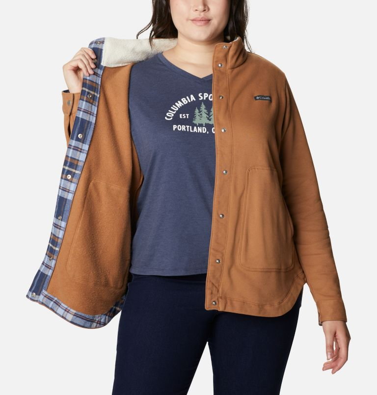 Women's Hart Mountain™ Shirt Jacket - Plus Size Women's Hart Mountain™ Shirt Jacket - Plus Size, a3