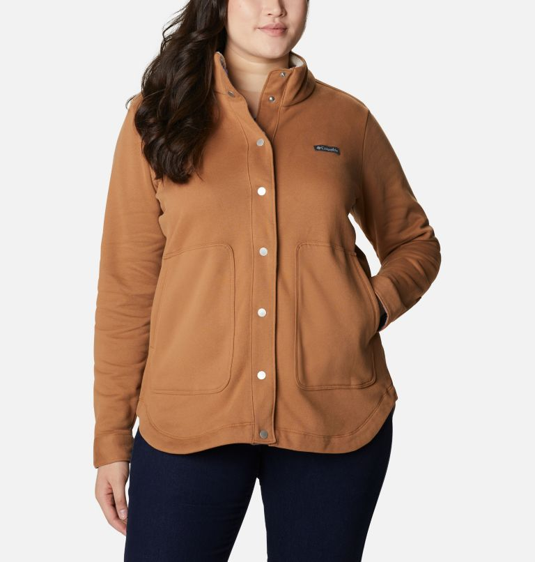 Women's Hart Mountain™ Shirt Jacket - Plus Size Women's Hart Mountain™ Shirt Jacket - Plus Size, a4