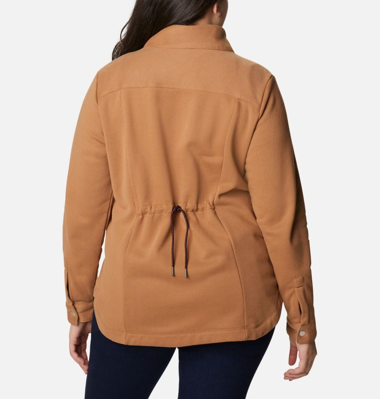 Women's Hart Mountain™ Shirt Jacket - Plus Size Women's Hart Mountain™ Shirt Jacket - Plus Size, back