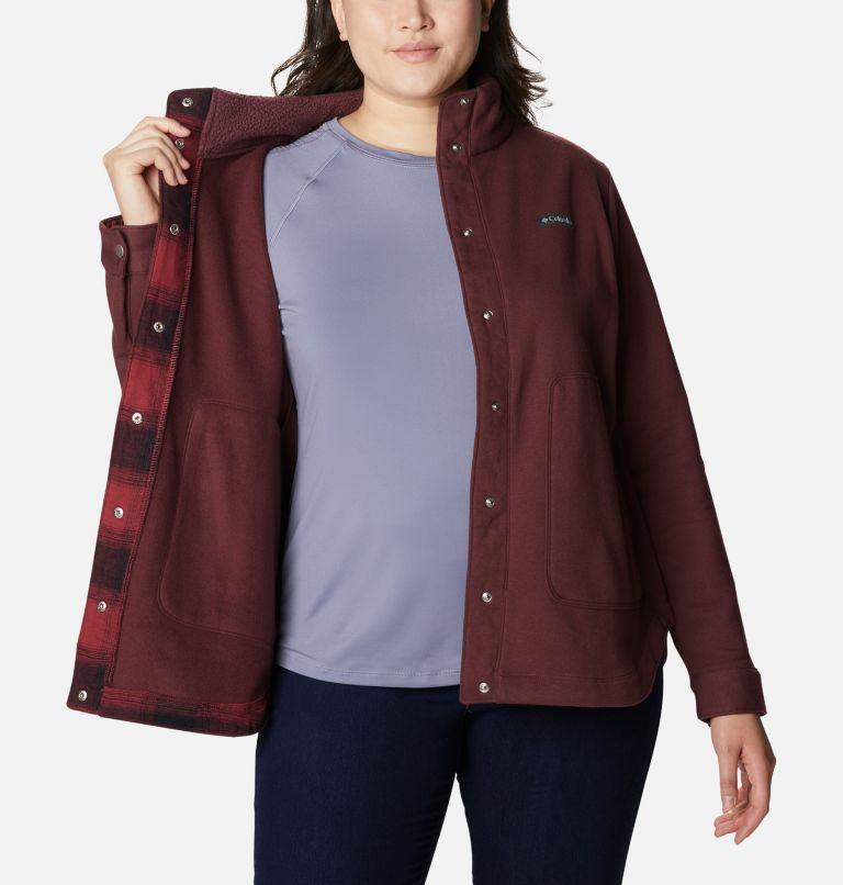 Women's Hart Mountain™ Shirt Jacket - Plus Size Women's Hart Mountain™ Shirt Jacket - Plus Size, a3