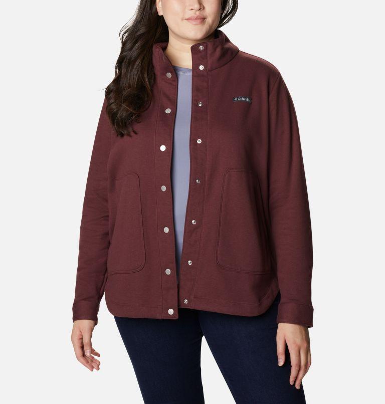 Women's Hart Mountain™ Shirt Jacket - Plus Size Women's Hart Mountain™ Shirt Jacket - Plus Size, front