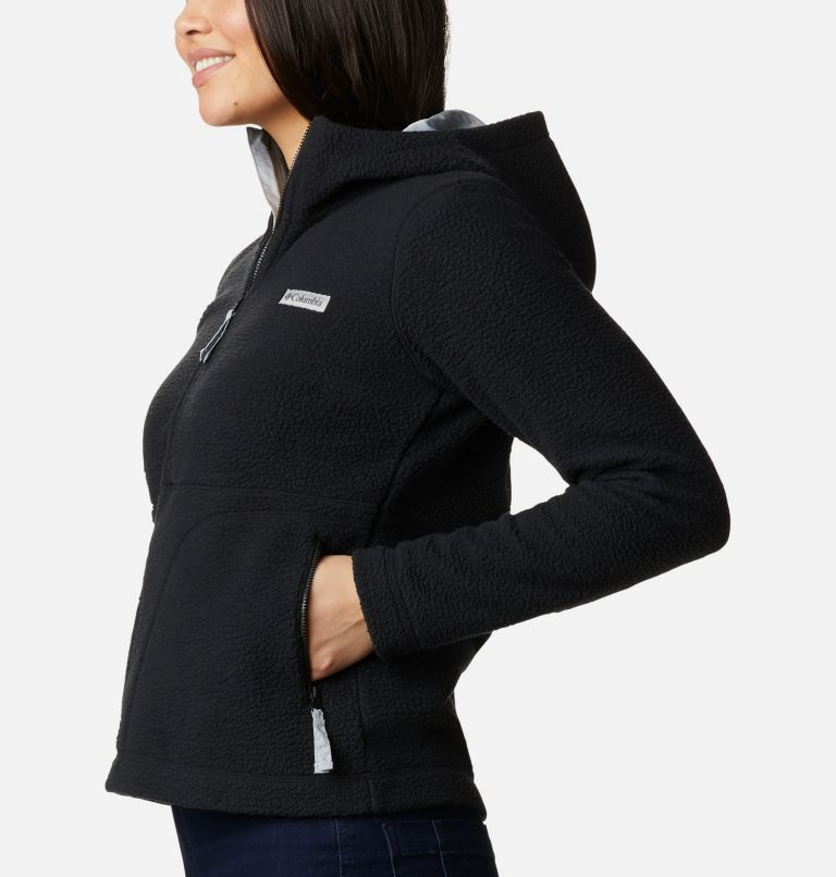 Northern Reach™ Sherpa Anorak | 010 | XL Anorak Sherpa Northern Reach™ da donna, Black, a1