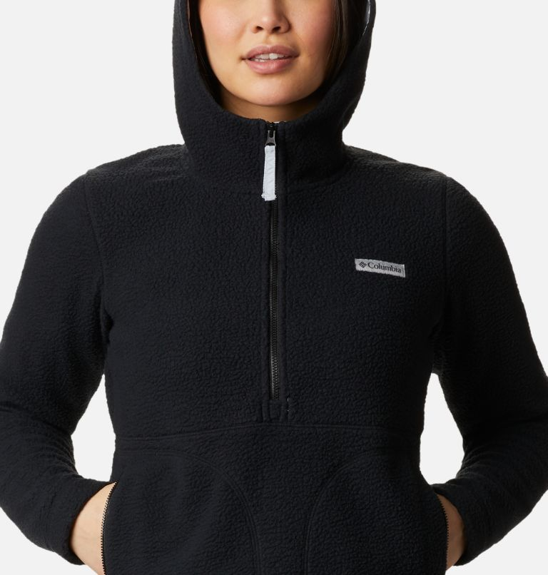 Northern Reach™ Sherpa Anorak | 010 | XL Anorak Sherpa Northern Reach™ da donna, Black, a2