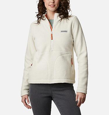 Anorak de polar sherpa Northern Reach™ para mujer Northern Reach™ Sherpa Anorak | 191 | L, Chalk, front