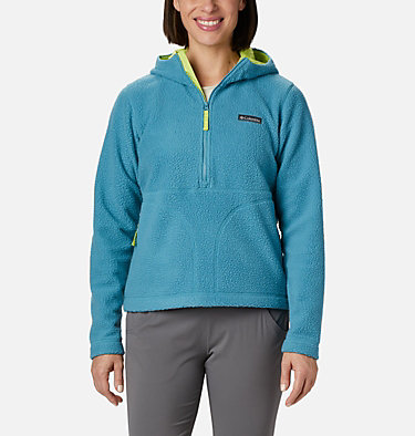 Anorak en polaire Northern Reach™ femme Northern Reach™ Sherpa Anorak | 191 | L, Canyon Blue, front