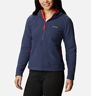 Anorak en polaire Northern Reach™ femme Northern Reach™ Sherpa Anorak | 191 | L, Nocturnal, front