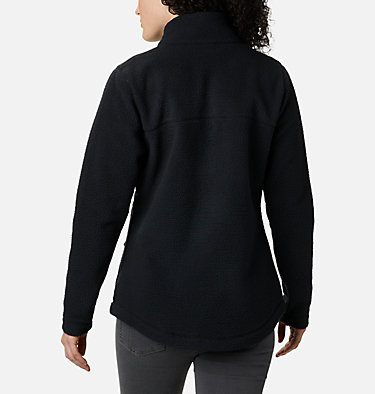 Women's Northern Reach™ Full Zip Sherpa Fleece Northern Reach™ Sherpa FZ | 010 | L, Black, back