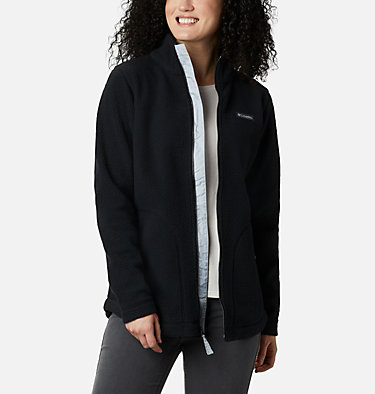 Women's Northern Reach™ Full Zip Sherpa Fleece Northern Reach™ Sherpa FZ | 618 | L, Black, front