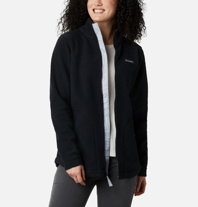 Northern Reach™ Sherpa FZ | 010 | XXL Women's Northern Reach™ Full Zip Sherpa Fleece, Black, front