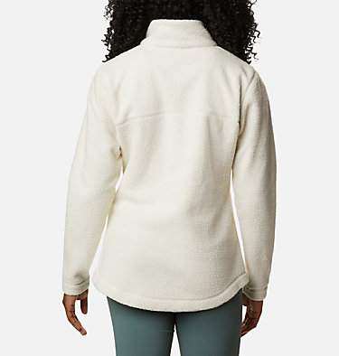 Manteau à fermeture éclair en Sherpa Northern Reach™ pour femme Northern Reach™ Sherpa FZ | 010 | L, Chalk, back