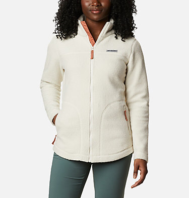 Women's Northern Reach™ Full Zip Sherpa Fleece Northern Reach™ Sherpa FZ | 010 | L, Chalk, front