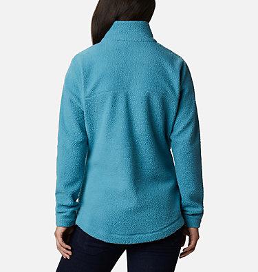 Women's Northern Reach™ Full Zip Sherpa Fleece Northern Reach™ Sherpa FZ | 618 | L, Canyon Blue, back