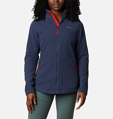 Women's Northern Reach™ Full Zip Sherpa Fleece Northern Reach™ Sherpa FZ | 010 | L, Nocturnal, front