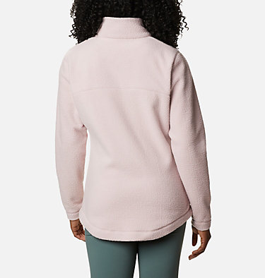 Women's Northern Reach™ Full Zip Sherpa Fleece Northern Reach™ Sherpa FZ | 618 | L, Mineral Pink, back