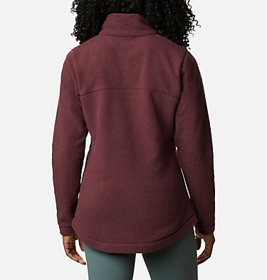 Women's Northern Reach™ Full Zip Sherpa Fleece Northern Reach™ Sherpa FZ | 010 | L, Malbec, back