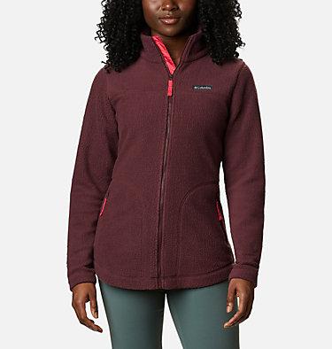 Manteau à fermeture éclair en Sherpa Northern Reach™ pour femme Northern Reach™ Sherpa FZ | 010 | L, Malbec, front