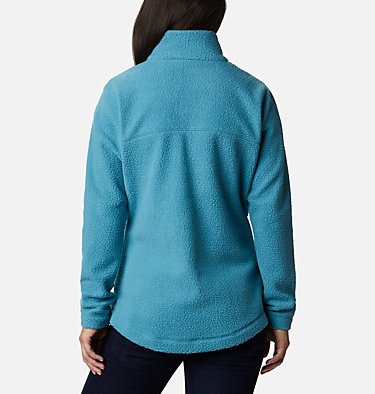 Northern Reach Sherpa Fleece für Frauen Northern Reach™ Sherpa FZ | 466 | L, Canyon Blue, back