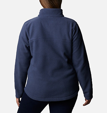 Women's Northern Reach™ Full Zip Sherpa Fleece - Plus Size Northern Reach™ Sherpa FZ | 010 | 1X, Nocturnal, back