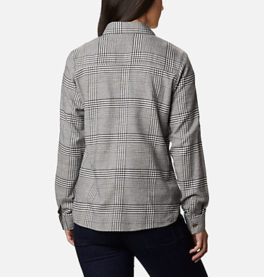 Women's Pine Street™ Stretch Flannel Pine Street™ Stretch Flannel | 430 | L, Chalk Glen Plaid, back