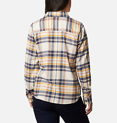 Women's Pine Street™ Stretch Flannel Pine Street™ Stretch Flannel | 430 | L, Nocturnal Multi, back