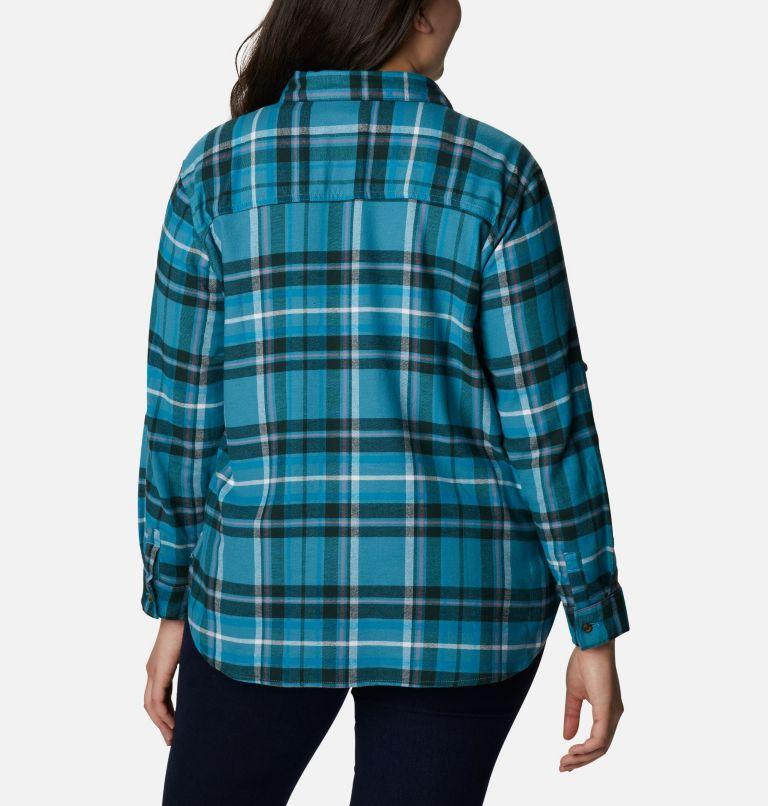 Women's Pine Street™ Stretch Flannel - Plus Size Women's Pine Street™ Stretch Flannel - Plus Size, back
