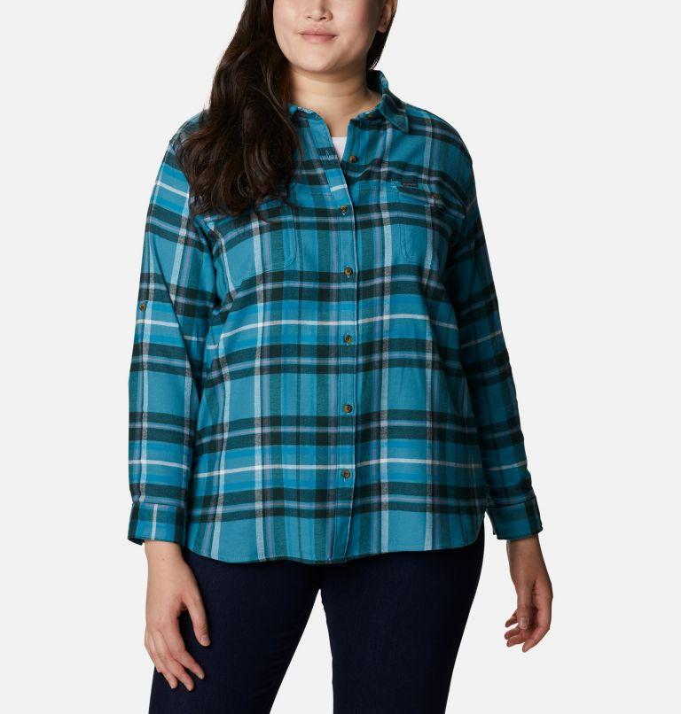 Women's Pine Street™ Stretch Flannel - Plus Size Women's Pine Street™ Stretch Flannel - Plus Size, front