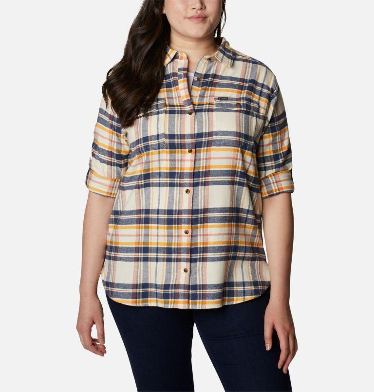 Women's Pine Street™ Stretch Flannel - Plus Size Women's Pine Street™ Stretch Flannel - Plus Size, a4