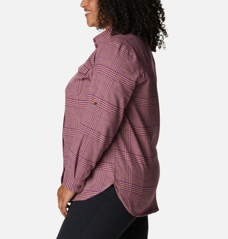 Chemise en flanelle extensible Pine Street™ pour femme - Grandes tailles Chemise en flanelle extensible Pine Street™ pour femme - Grandes tailles, a1