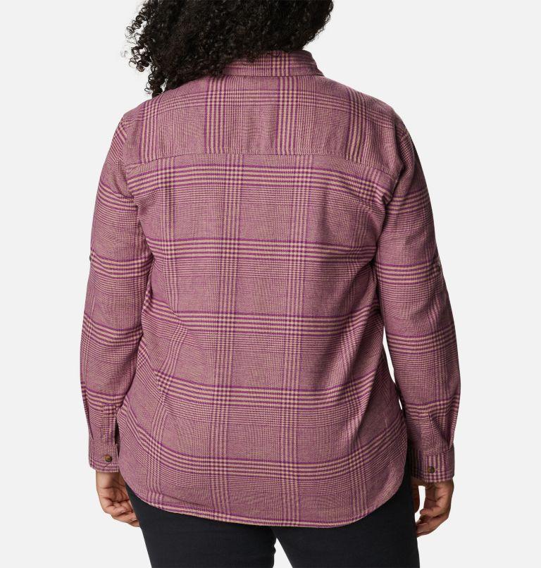 Chemise en flanelle extensible Pine Street™ pour femme - Grandes tailles Chemise en flanelle extensible Pine Street™ pour femme - Grandes tailles, back