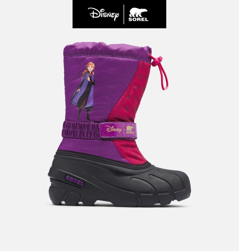 Disney X Sorel Youth Flurry™ Frozen 2 Boot –Anna Edition Disney X Sorel Youth Flurry™ Frozen 2 Boot –Anna Edition, front