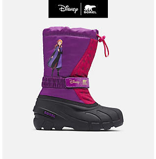 Disney x SOREL Children's Flurry™ Frozen 2 Boot –Anna edition