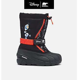 Disney x SOREL Youth Flurry™ Frozen 2 Boot –Olaf edition