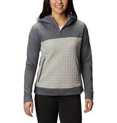 Women's Sunday Summit™ Hooded Pullover Sunday Summit™ Hooded Pullover | 370 | L, Grey Ash Heather, front