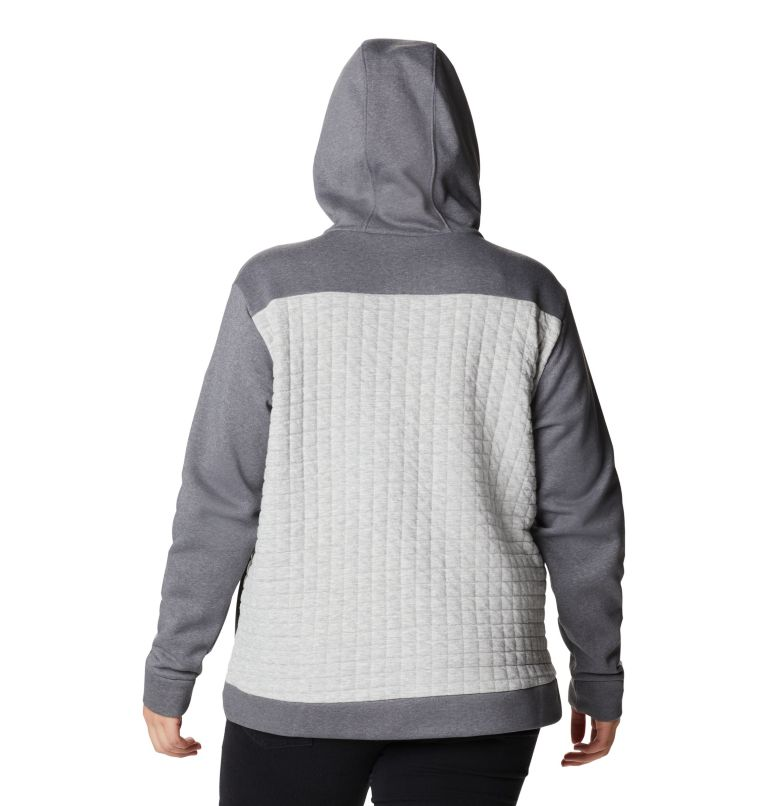 Women's Sunday Summit™ Hooded Pullover - Plus Size Women's Sunday Summit™ Hooded Pullover - Plus Size, back