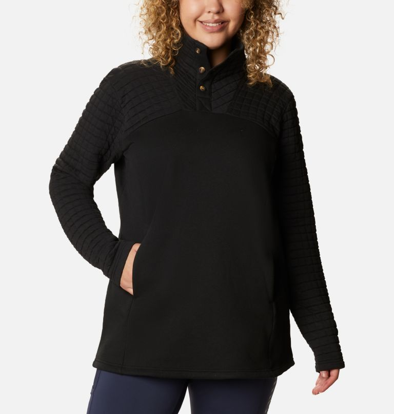 Sunday Summit™ II Tunic | 010 | 1X Tunique Sunday Summit™ II pour femme - Grandes tailles, Black, front