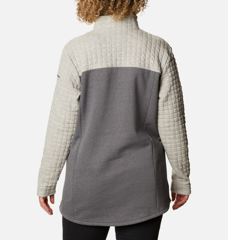 Sunday Summit™ II Tunic | 021 | 1X Tunique Sunday Summit™ II pour femme - Grandes tailles, Grey Ash Heather, back
