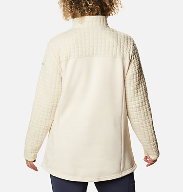 Women's Sunday Summit™ II Tunic - Plus Size Sunday Summit™ II Tunic | 010 | 1X, Chalk, back