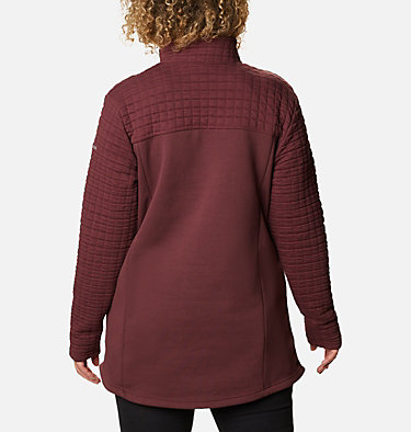Women's Sunday Summit™ II Tunic - Plus Size Sunday Summit™ II Tunic | 671 | 1X, Malbec, back