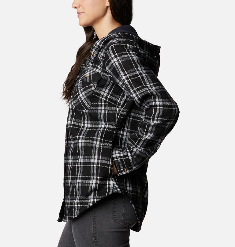 Women's Columbia City™ Hooded Long Sleeve Shirt Women's Columbia City™ Hooded Long Sleeve Shirt, a1
