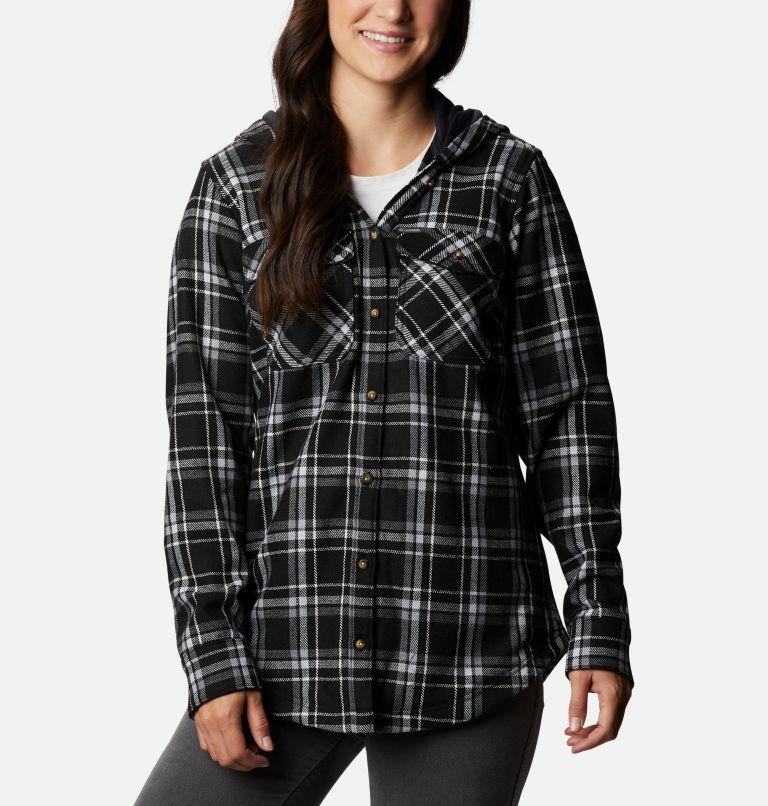 Women's Columbia City™ Hooded Long Sleeve Shirt Women's Columbia City™ Hooded Long Sleeve Shirt, front