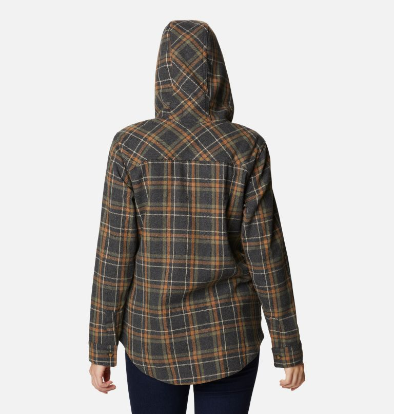 Women's Columbia City™ Hooded Long Sleeve Shirt Women's Columbia City™ Hooded Long Sleeve Shirt, back