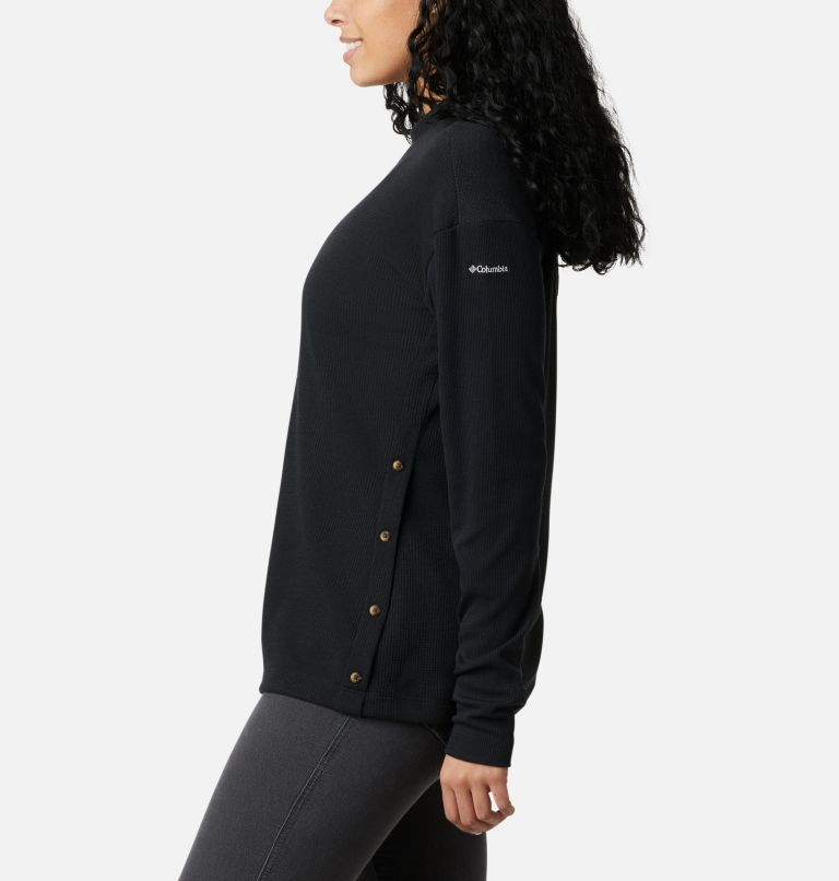 Pine Street™ LS Knit | 010 | L Women's Pine Street™ Long Sleeve Knit Shirt, Black, a1